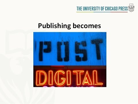 Après la Révolution: Publishing in the Post-Digital World - Garrett Kiely