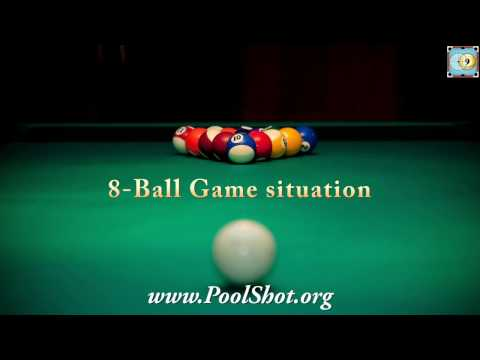 8-Ball Game situation #1- Pool & Billiard Training Lesson