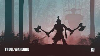 Troll Warlord - Dota 2 гайд от бога. Троль - сложно, но можно.