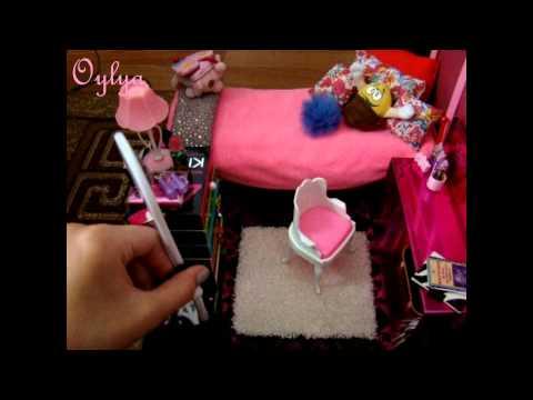 Как сделать для кукол всё ютуб