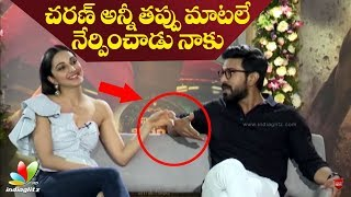 Ram Charan taught me only wrong words in Telugu: Kiara Advani | Vinaya Vidheya Rama interview - IGTELUGU
