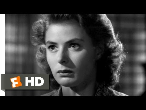 Casablanca (4/6) Movie CLIP - I Still Love You (1942) HD