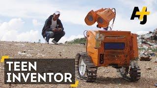 Wall-Ekitt, el robot boliviano creado con desechos