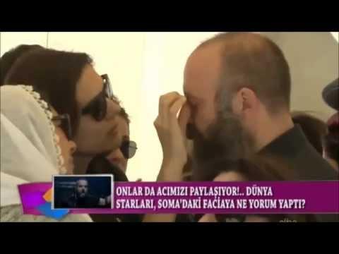 Berguzar Korel and Halit Ergenc at Magazin D
