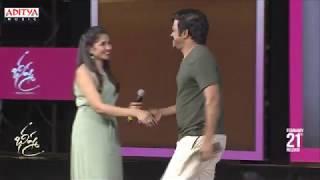 Brahmaji Dance on Stage @ Bheeshma Pre Release Event | Nithiin, Rashmika - ADITYAMUSIC