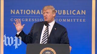 Trump: 'Let's call it the tax cut, cut, cut bill' - WASHINGTONPOST
