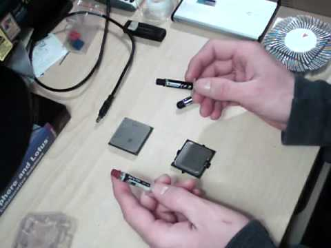 Thermal Paste Application AMD & Intel CPUs Full Tutorial