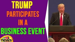 President Trump Participates In a Business Event With President Xi | Mango News - MANGONEWS