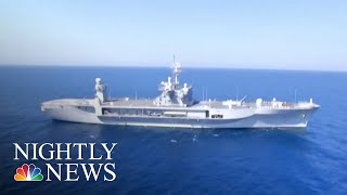 U.S. Navy And Allies Train In Black Sea Ahead Of Trump-Putin Summit | NBC Nightly News - NBCNEWS