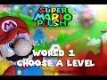 Super Mario Plush World 1 - Choose A Level