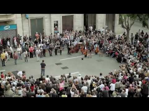 Flashmob Flash Mob - Ode an die Freude ( Ode to Joy ) Beethoven Symphony No.9 classical music