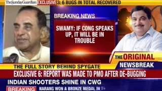 Subramaniam Swamy hits out at congress on bugging issue - NEWSXLIVE