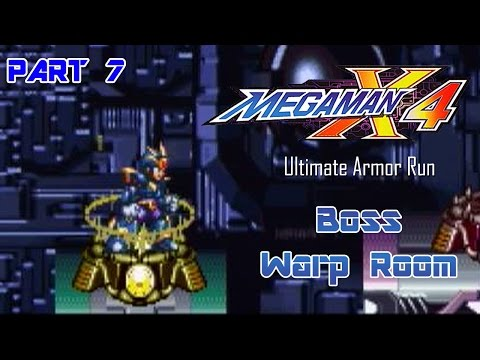 Mega Man X4 - Ultimate Armor Run Part 07 | Too Much Gaming