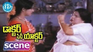 Doctor Cine Actor Movie Scenes - Suryakantam Hurts Jayasudha With Her Words || Krishna || Kavitha - IDREAMMOVIES