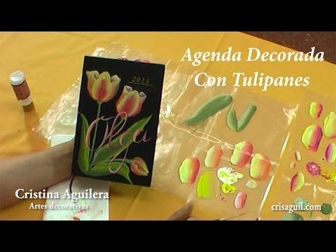 Pintura multicarga pintar tulipanes , tulips painting