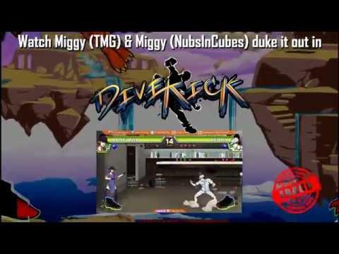 Divekick - NubsInCubes vs TooMuchGaming Teaser