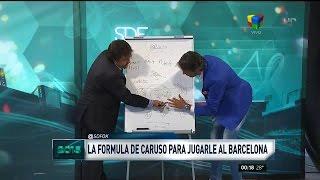 El método de Caruso Lombardi para ganarle a Barcelona