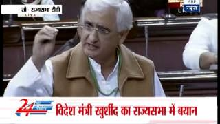 Khobragade will be brought back with dignity: Khurshid - ABPNEWSTV
