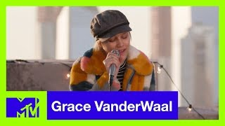 Grace VanderWaal Performs 'Clearly' (Live Acoustic) | #MTVXGRACE - MTV