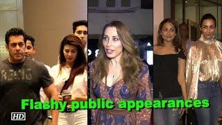 Salman, Malaika, Iulia flashy public appearances - BOLLYWOODCOUNTRY