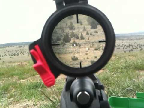 Shooting 1000 yards tracer