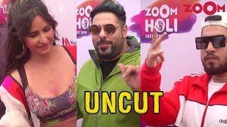 Zoom Holi Fest 2019 | Katrina Kaif, Badshah, Arjun Kanungo, Naezy, Dino Morea | Exclusive - ZOOMDEKHO