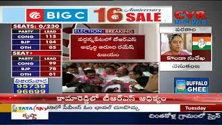 Elections in Telangana says War One side | Car Hulchul In Telangana | CVR News - CVRNEWSOFFICIAL