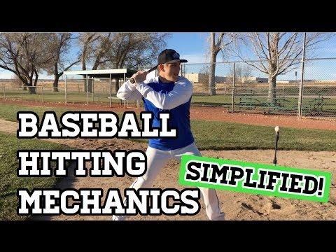 Baseball Hitting Mechanics (SIMPLIFIED!)