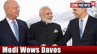 Modi Mantra at WEF 2018 in Davos || Rahul's Bizzare Economics || Face Off || CNN-News18 - IBNLIVE