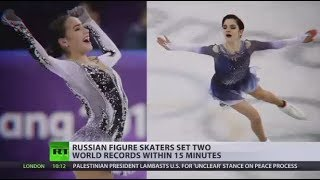 Russian figure skaters set two world records within 15 minutes - RUSSIATODAY