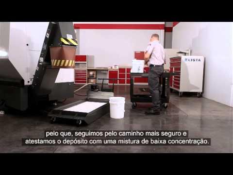 (PT)Líquido de refrigeração da máquina-ferramenta: Atestar uma concentração baixa