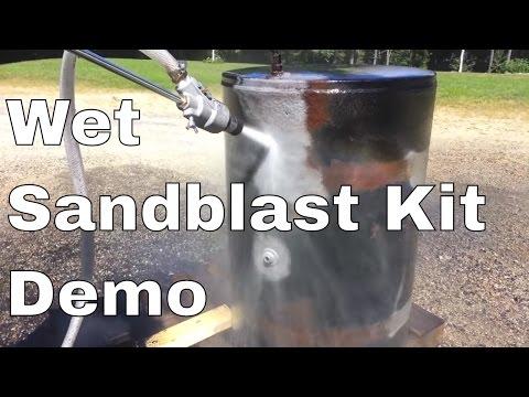 Power Eagle Wet Sand Blast Kit