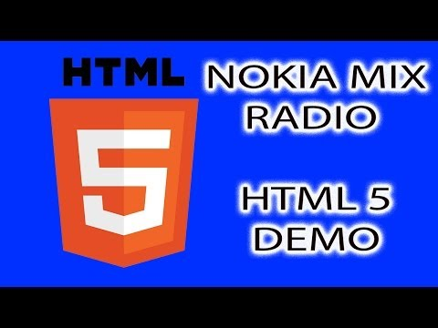 Nokia Mix Radio HTML 5 Demo (MWC 2014)