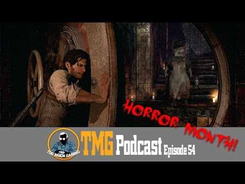 The TMG Podcast Episode 54: With Finesse. Horro Month Part 3 - 10/18/2014
