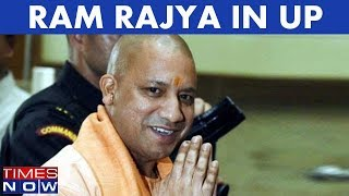 Ram Rajya is home for all without poverty or grief: Adityanath in Ayodhya - TIMESNOWONLINE