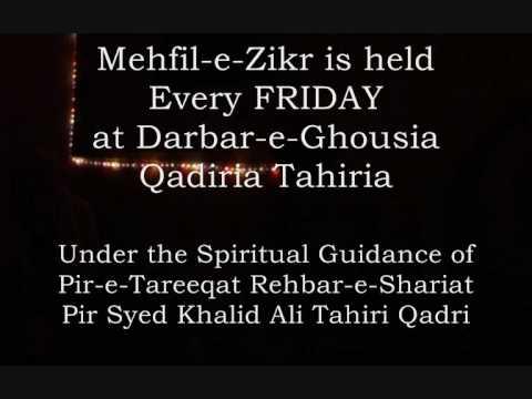 Spiritual Mehfil e Zikr at Darbar-e-Ghousia Qadiria Tahiria UK