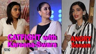 ANGRY Sonam on CATFIGHT rumors with Kareena-Swara - IANSLIVE