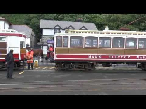 Tram journey  -- Manx Electric Railway -- 16/07/14
