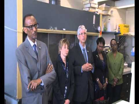 President Kagame visits Massachusetts Institute of Technology Visit- Boston, 22 April 2014