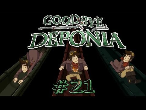 Let's Play - Goodbye Deponia #21 - Dreimal so viel Dreck