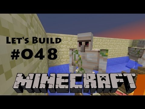 Minecraft - Let's Build #048 - Eisen-Farm [Deutsch] [HD] - OUTDATED