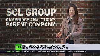 British govt caught up in Facebook data mining scandal - RUSSIATODAY