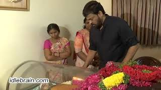 Chiranjeevi pay homage to Kamala Kumari - idlebrain.com - IDLEBRAINLIVE