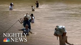 Lack Of Power And Communications Hampering Rescue Efforts | NBC Nightly News - NBCNEWS