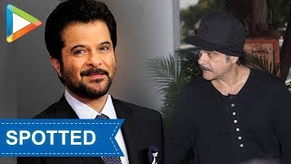 SPOTTED: Anil Kapoor while jogging - HUNGAMA
