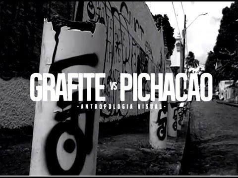 Grafite vs Pichação - Antropologia Visual