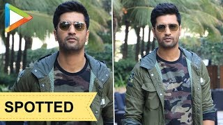 SPOTTED: Vicky Kaushal during the promotions of URI - HUNGAMA
