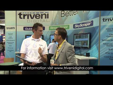 2014 NAB Show: Triveni Digital's Ralph Bachofen, Vice President, Sales & Marketing