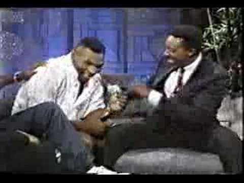 Ali, Sugar Ray and Tyson with Arsenio