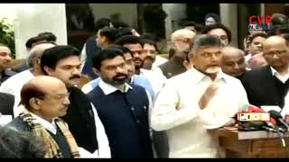 Chandrababu Naidu speaks to media after Opposition Parties meet at Delhi | CVR News - CVRNEWSOFFICIAL